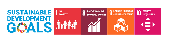 SDGs for James Sawler: No Poverty, Economic Growth, Reduced Inequalities