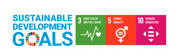 SDGs for Aine Humble - Good health; gender equality; equality for all