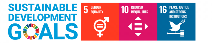 SDGs for Tammy Findlay: Gender Equality; reduced inequalities