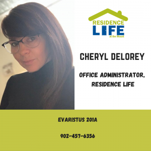 Cheryl Delorey with contact information. Phone 902-457-6356
