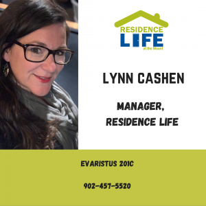 Lynn Cashen with contact information. Phone 902-457-5520