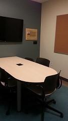 Meeting room interior.