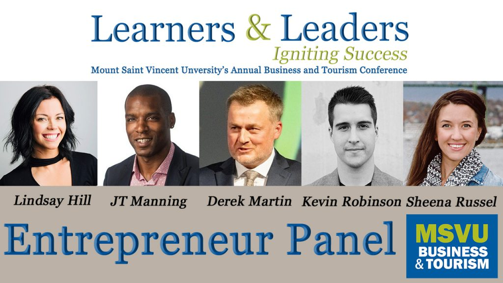 Learners and Leaders Conference 2021 Entrepreneurship panel