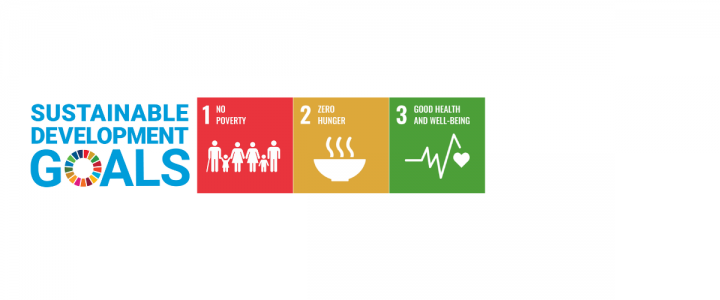SDGs for Kyly Whitfield: No poverty, zero hunger, good health and well-being
