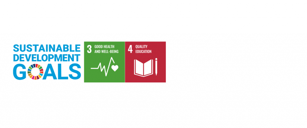 SDGs for Christine McLean: Good Health and Well-being; Quality Education