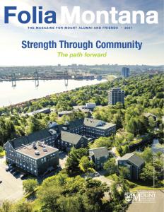 Folia Montana 2021: Strength Through Community Magazine Cover