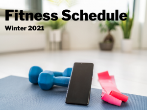 dumbbells resistance band and a smart phone