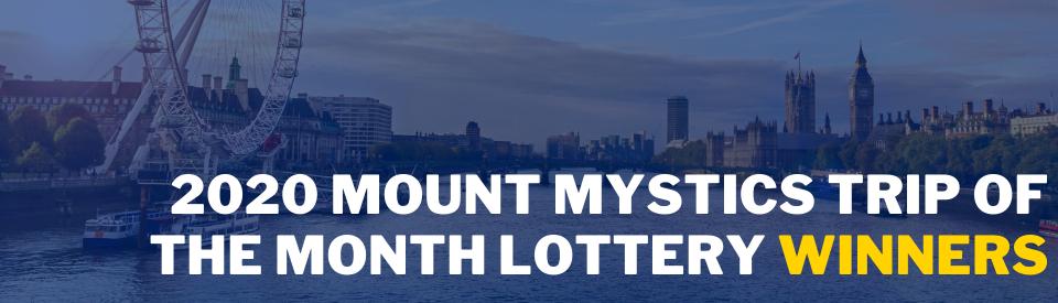 2020 Lottery Winners