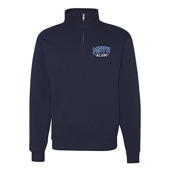 MSVU Alum 1/4th Zip Sweatshirt