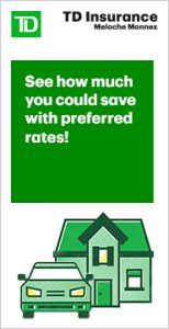 See how much you could save with preferred rates TD Insurance banner
