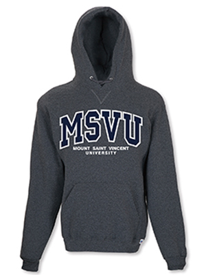 MSVU Branded Women's Hoodie with MSVU Written on Chest