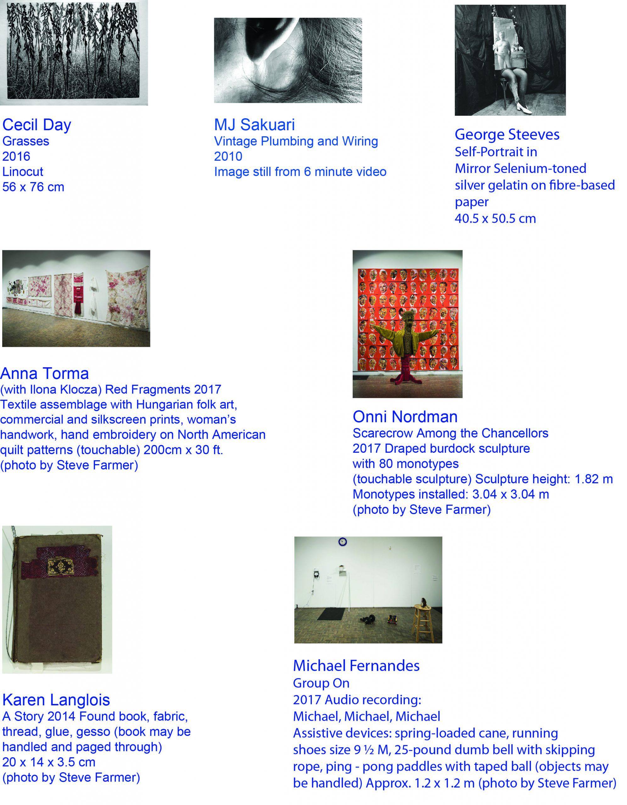 Art Exhibit work