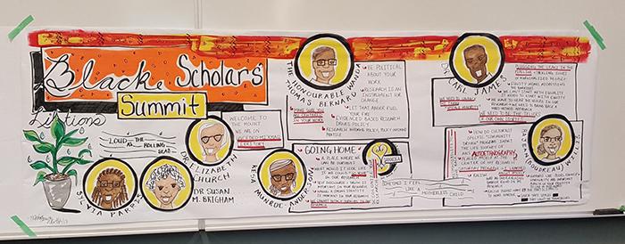 Black Scholars Summit banner