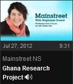 CBC Interview Stephanie Domet