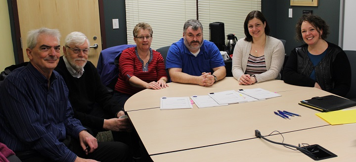 CUPE Local 3912 and MSVU Bargaining Teams -- at contract signing -- Dec 2017-resized