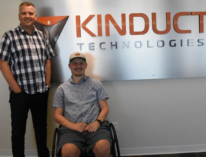 Connor Hirtle at Kinduct Tehcnologies