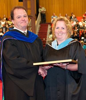 Dr Kenny and Stephanie Hale