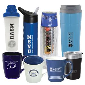 MSVU Branded Drinkware