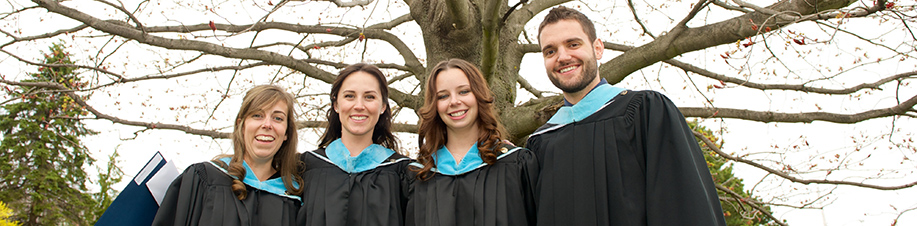 Students graduating the MSVU Bachelor of Education Program