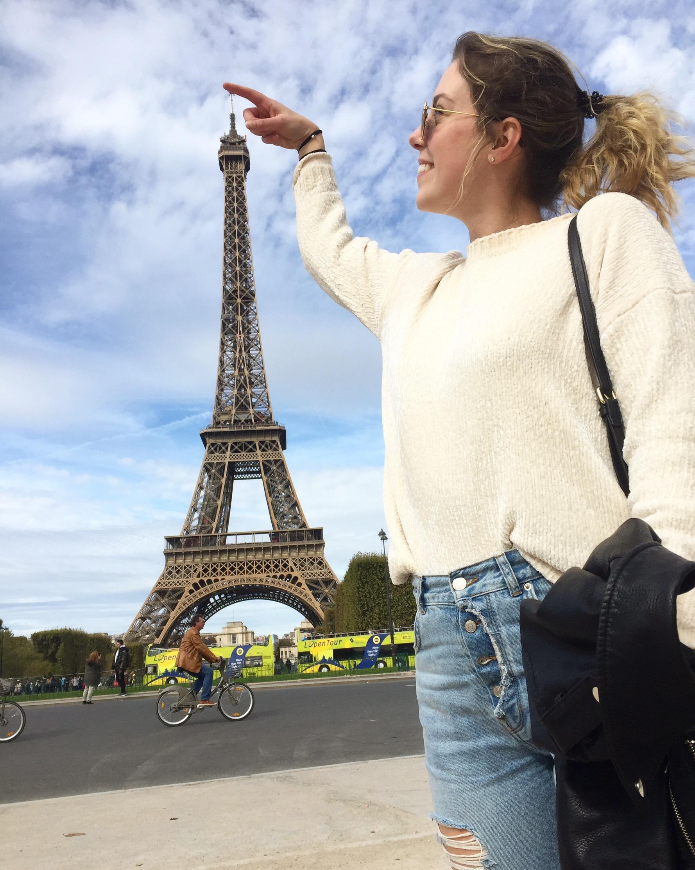 Eiffel Tower Julie