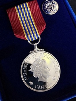 Emily Alberts medal
