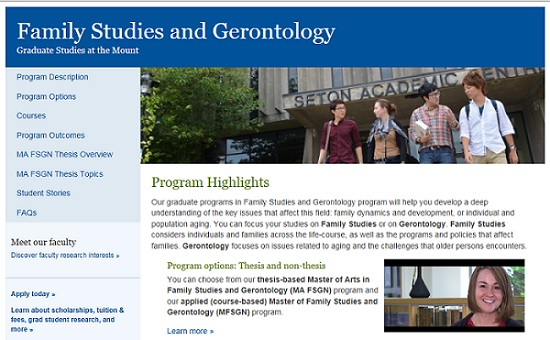 FSGN website image