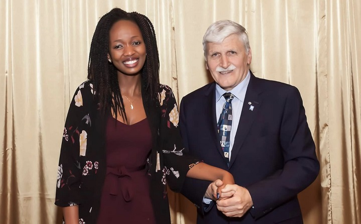 Fammy and General Dallaire
