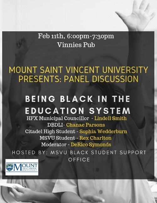 Feb 11 panel poster -- African Heritage Month event