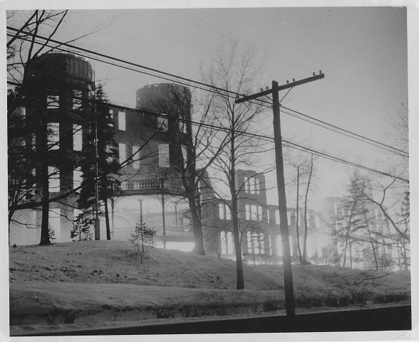 Fire at the Mount in 1951