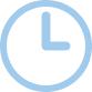 Flat Icon Clock