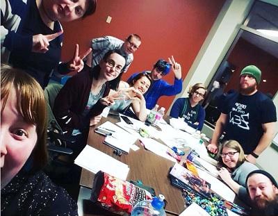 Geek society--meeting