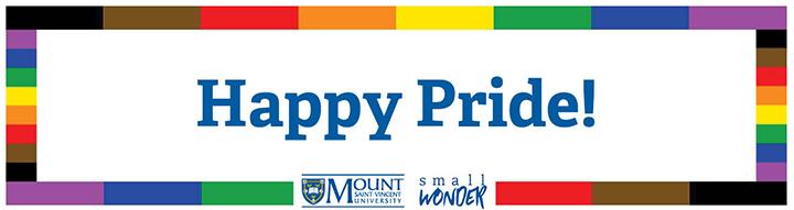 Happy Pride 2019 banner
