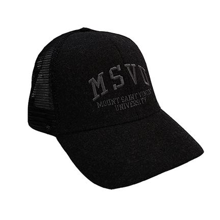 MSVU Hat Dark Grey & Black