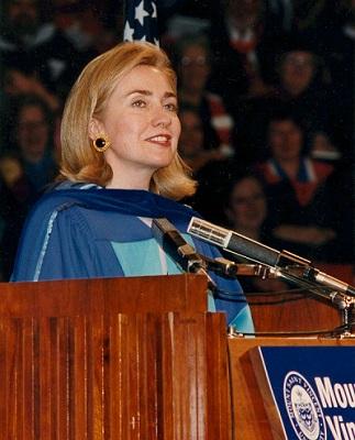 Hillary Clinton at MSVU-June 1995