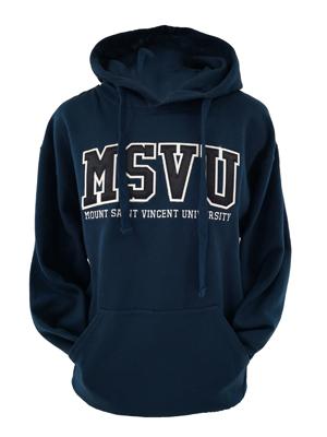 MSVU Cross Dye Fleece Hoodie Sweatshirt