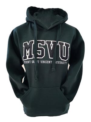 MSVU Solid Colour Hoodie Sweatshirt