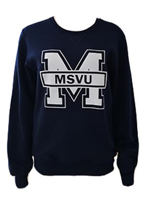 'M' - MSVU Crew Russel Sweatshirt