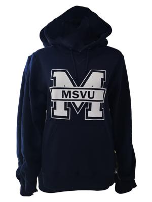 'M'- MSVU Hoodie Russell Sweatshirt