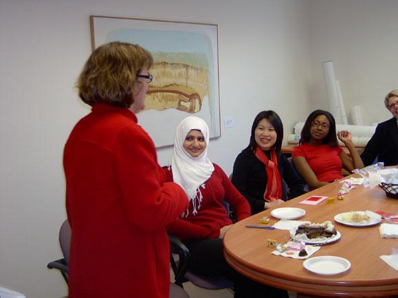 ASHRA student luncheon_MDC boardroom