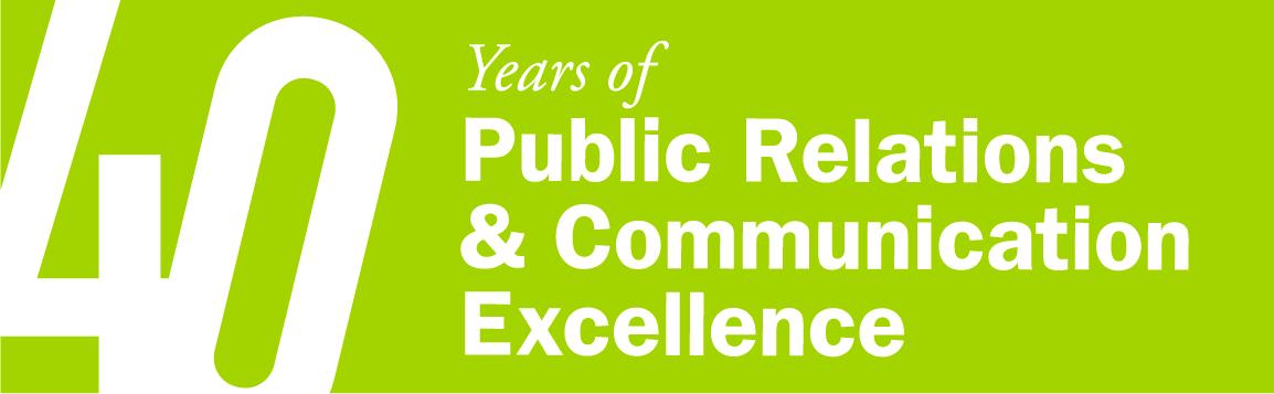 MSVU-PR 40th Logo