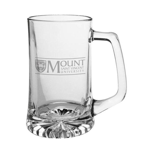 MSVU Branded Stein Glass