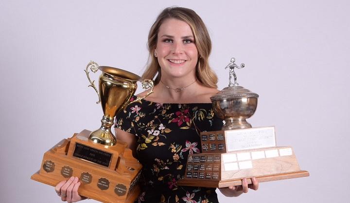 Madison Urquhart WVB MVP and Female Athlete of the Year