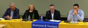 Management Career Week panelists