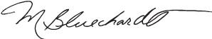 Mary B signature