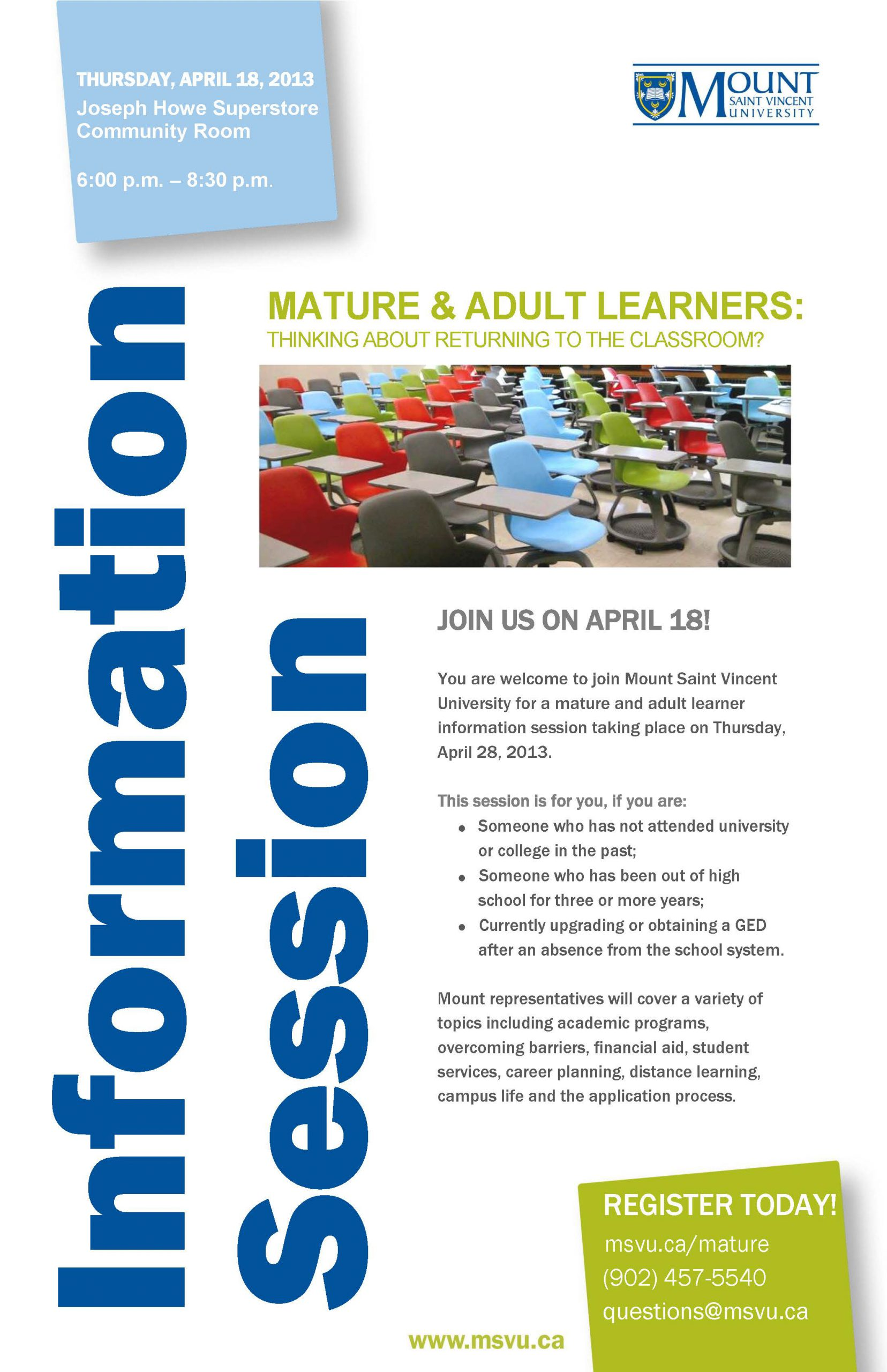 Mature Info Session Poster Final