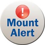 Mount Alert button
