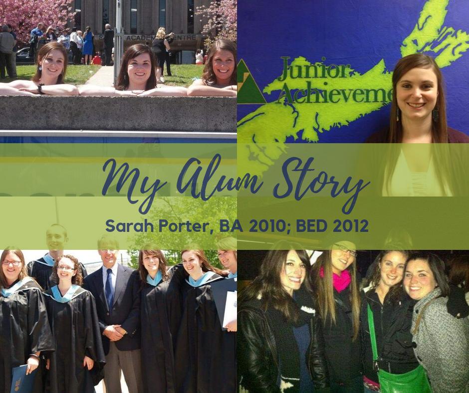 My Alum Story - Sarah