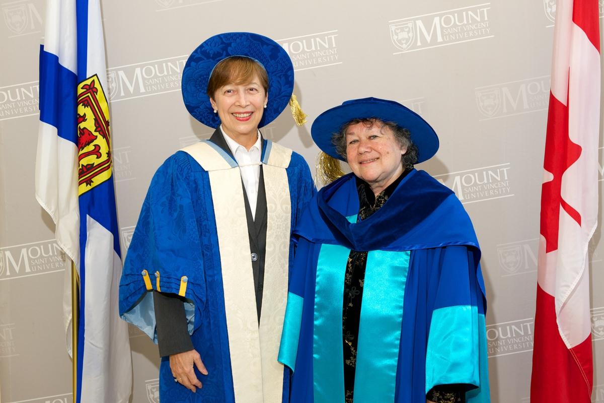 Ramona Lumpkin and Joan Glode