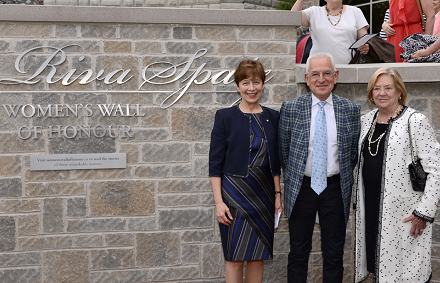 Riva Spatz Womens Wall of Honour unveiling-website
