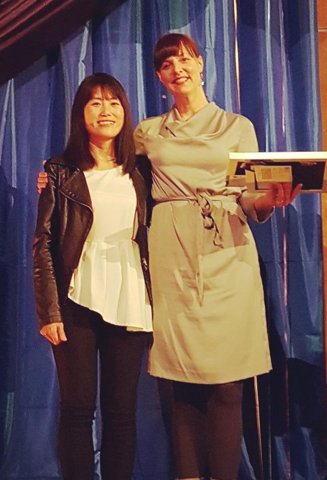 Sophia Fu - Student Experience Leadership Award 2017